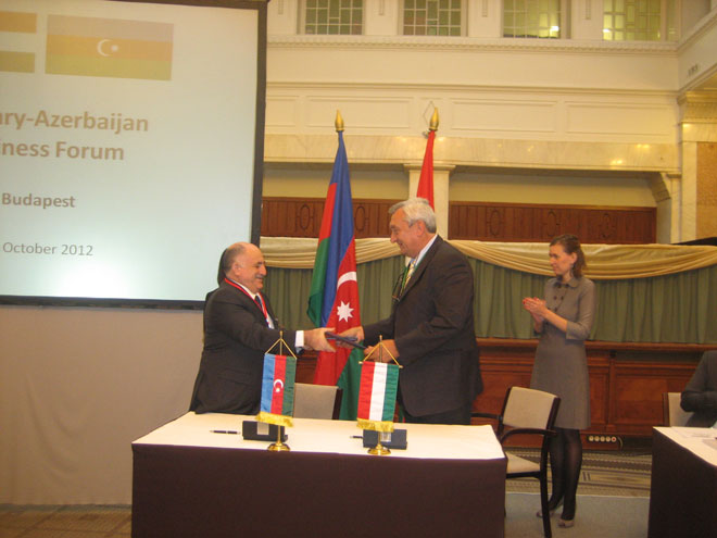 Azerbaijan, Hungary sign protocol following intergovernmental commission's session (PHOTO) - Gallery Image
