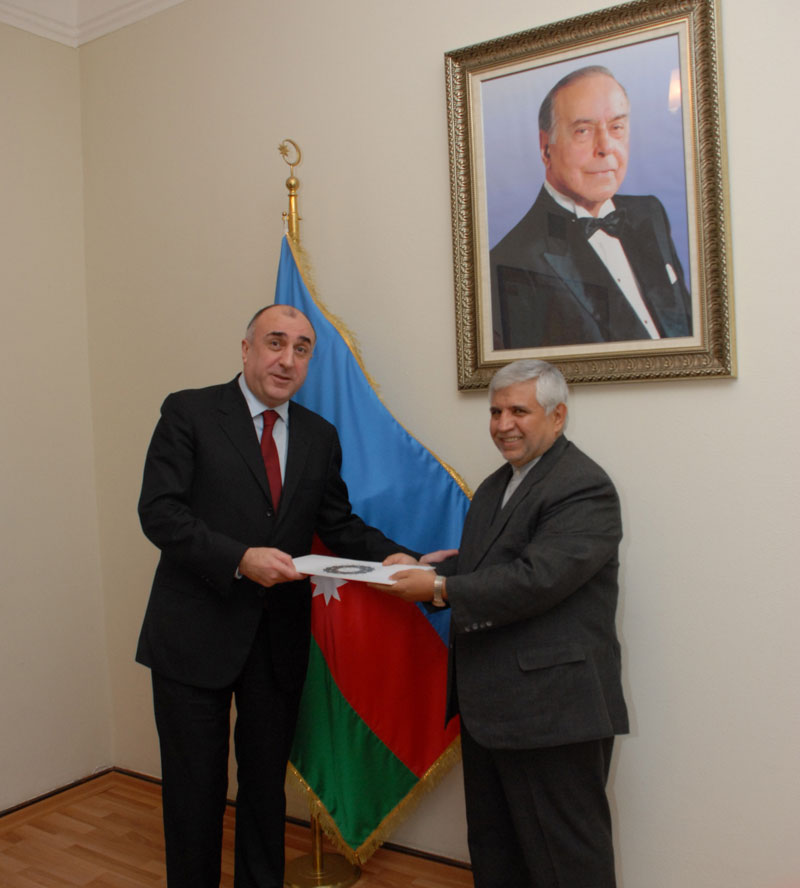 Azerbaijani FM receives newly appointed ambassadors (PHOTO) - Gallery Image