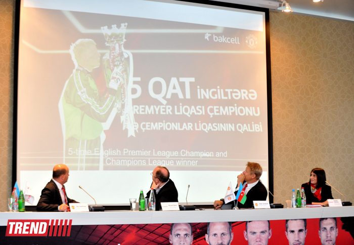 Azerbaijani mobile operator signs agreement with 'Manchester United' (PHOTO) - Gallery Image