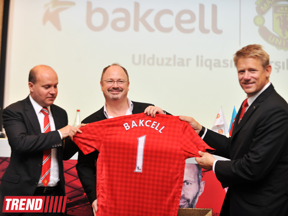 Azerbaijani mobile operator signs agreement with 'Manchester United' (PHOTO)