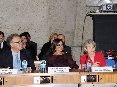 Azerbaijan`s first lady attends annual meeting of UNESCO`s Goodwill Ambassadors (PHOTO)