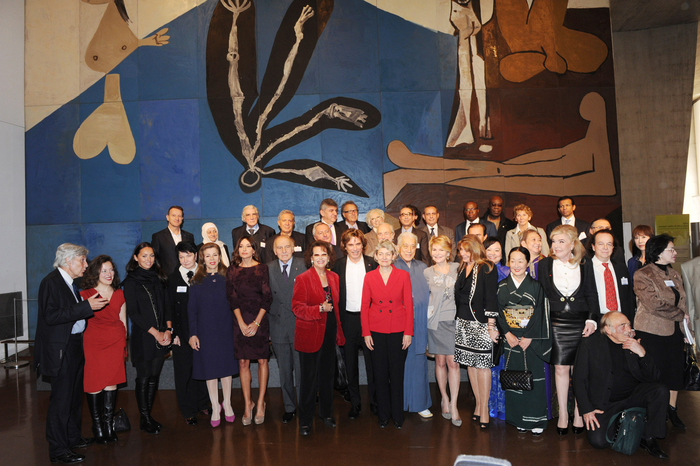 Azerbaijan`s first lady attends annual meeting of UNESCO`s Goodwill Ambassadors (PHOTO) - Gallery Image