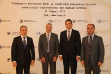 International Bank of Azerbaijan launches Diners Club exclusive card issue (PHOTO) - Gallery Thumbnail