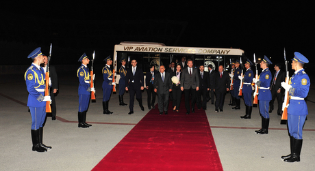 Chairman of Presidency of Bosnia and Herzegovina arrives in Azerbaijan on official visit