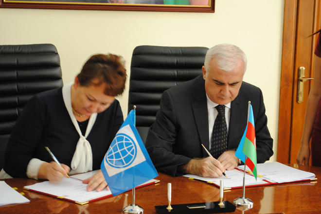 Azerbaijan, WB sign loan agreement on agricultural project (PHOTO)