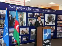 NATO headquarters hosts exhibition Azerbaijan's participation in Afghanistan (PHOTO) - Gallery Thumbnail