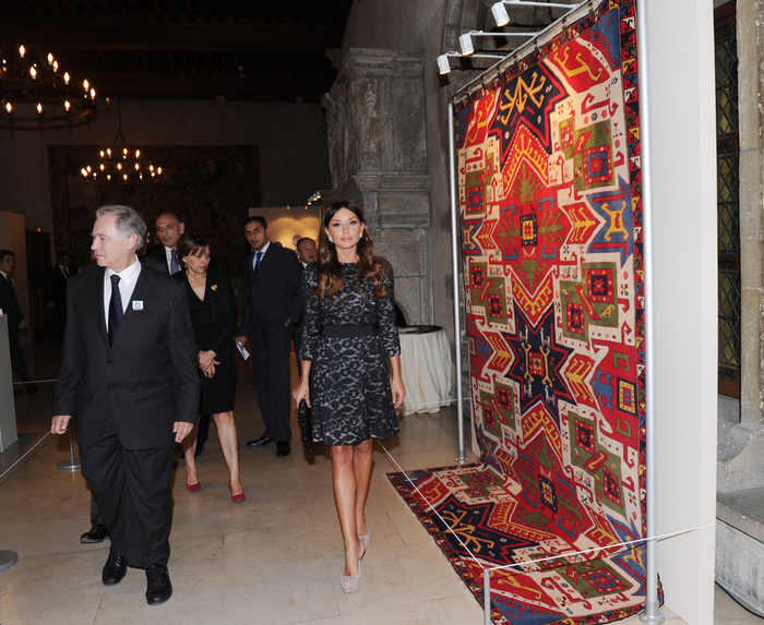 Mehriban Aliyeva attends exhibition and concert on Azerbaijan in Reims (PHOTO)