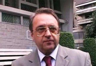 Замглавы МИД России обсудил ситуацию в Сирии с представителем оппозиции