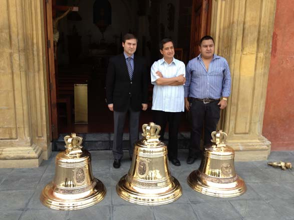 Three bells donated by Azerbaijani government for Mexico City (PHOTO)