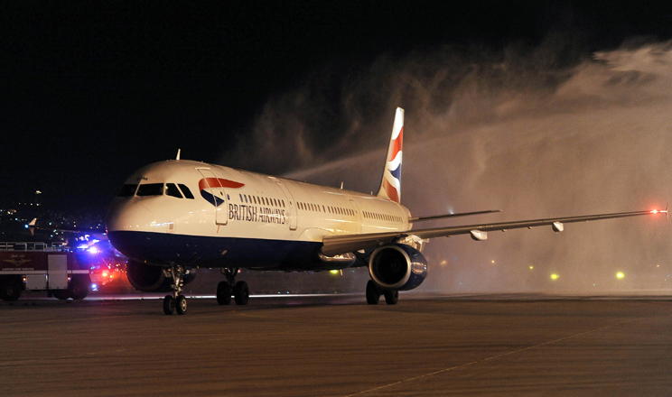 British Airways links two Capitals with the Superjumbo