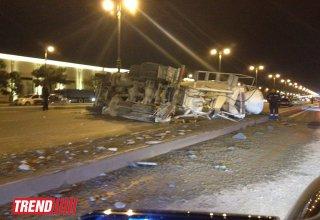 На дороге Баку-Губа произошло ДТП, есть погибший