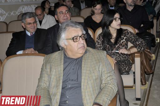 В момент всеобщей глобализации необходимо определить настоящее и будущее театрального искусства - Адалят Велиев (фото) - Gallery Image