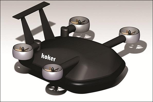 Iran successfully tests Koker-1 VTOL drone (PHOTO) - Gallery Image