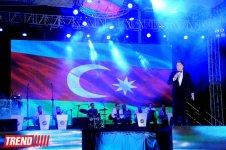 Bakıda Dövlət Bayrağı Günü münasibətilə möhtəşəm konsert təşkil olunub (FOTO) - Gallery Thumbnail