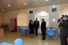 President Ilham Aliyev gets acquainted with reconstructed School 173 of capital's Yasamal District (PHOTO) - Gallery Thumbnail