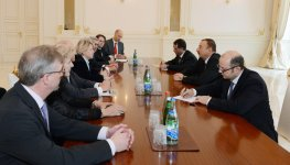 Azerbaijani President receives German Minister of State - Gallery Thumbnail