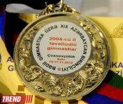 Bədii gimnastika üzrə 19-cu Azərbaycan birinciliyi keçirilib (FOTO) - Gallery Thumbnail