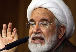 Iranian opposition leader Mehdi Karroubi admitted to hospital