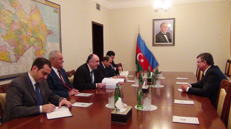 Azerbaijani FM meets with BSEC secretary general - Gallery Image