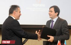 Two documents signed within Azerbaijani-Serbian business forum (PHOTO) - Gallery Thumbnail
