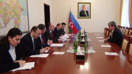 Azerbaijani FM meets with new Argentinean charge d'affaires - Gallery Thumbnail
