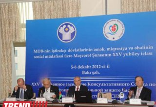Azerbaijani Minister: Post Soviet space becoming single labour market (PHOTO)
