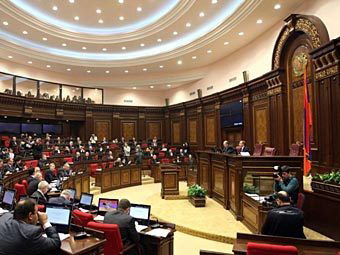 Armenian parliament approves government re-structuring