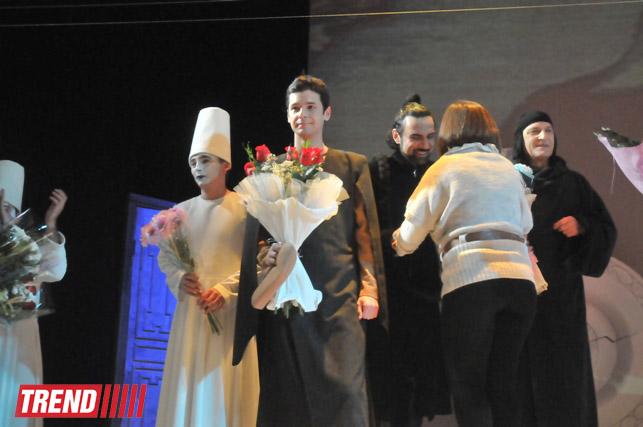 """В Баку состоялась премьера спектакля Йонаса Вайткуса """"Семь красавиц"""" – современный взгляд на произведение Низами (фото) - Gallery Image"""