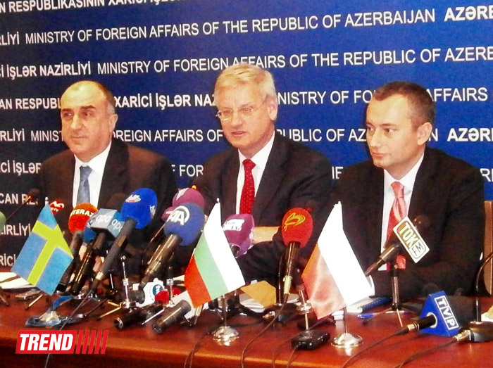 Heads of Foreign Ministries: EU interested in further cooperation with Azerbaijan (PHOTO) - Gallery Image