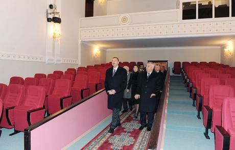 İlham Əliyev Horadiz Şəhər Mədəniyyət Sarayının açılışında iştirak edib (FOTO) - Gallery Image