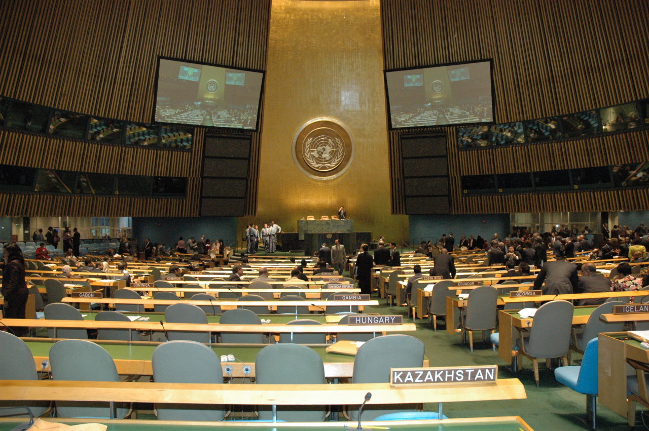 UN General Assembly adopts resolution initiated by Kazakhstan