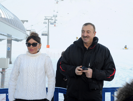 Azerbaijani President inaugurates Gaya hotel in Shahdag winter and summer tourism complex   (PHOTO) - Gallery Image