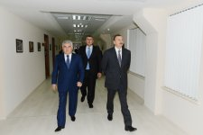 Azerbaijani President opens administrative building and volleyball ground of Azeryol club and Azeryol hotel (PHOTO) - Gallery Thumbnail