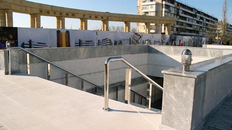 В Баку в эксплуатацию сдан новый подземный переход (ФОТО)