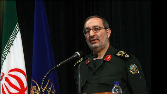 Iranian commander warns West about use of terrorist groups in region
