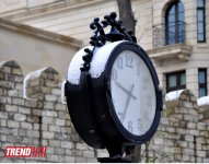 Заснеженный Баку (фотосессия) - Gallery Thumbnail