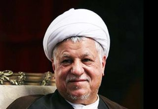 Chairman of the Assembly of Experts, former Iranian president Rafsanjani cast their votes