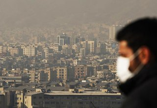 Ozone pollution in July worsens in Tehran
