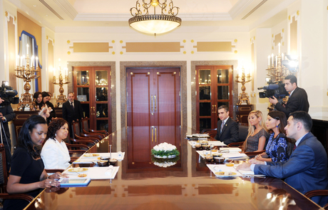Azerbaijan's first lady meets Founder and President of Advanced Development for Africa Foundation (PHOTO) - Gallery Image