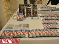 """Three points"" film about Armenian plagiarism and ""Azerbaijani cuisine"" book presented in Baku (PHOTO) - Gallery Thumbnail"