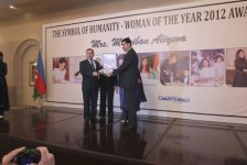 First Lady of Azerbaijan Mehriban Aliyeva announced 'The Person of 2012-Symbol of humanity' in Pakistan (PHOTO) - Gallery Thumbnail