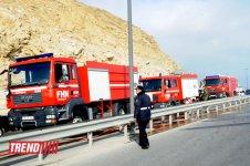 В Баку взорвался бензовоз, водитель погиб (версия 3)(ФОТО) - Gallery Thumbnail