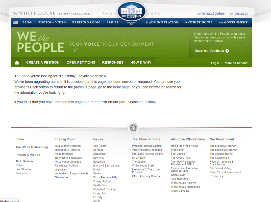White House's website announces appeal for Memorial Day for victims of Khojaly massacre war crimes