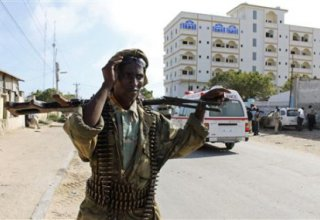 Suicide bomber kills at least 13 in police academy attack in Somali capital (UPDATE)