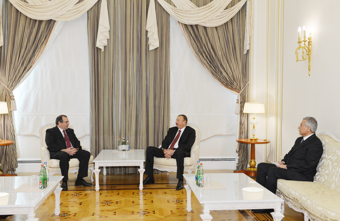 Azerbaijani President receives Secretary General of International Shooting Sport Federation - Gallery Image