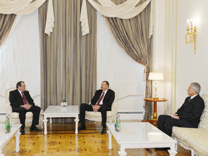 Azerbaijani President receives Secretary General of International Shooting Sport Federation