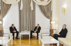 Azerbaijani President receives Secretary General of International Shooting Sport Federation - Gallery Thumbnail