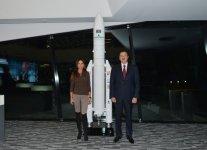 Президент Азербайджана и его супруга наблюдали за процессом запуска на орбиту спутника Azerspace-1 (ФОТО) - Gallery Thumbnail