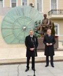 Президенты Азербайджана и Сербии и их супруги приняли участие в открытии памятника в Баку выдающемуся ученому Николе Тесла (ФОТО) - Gallery Thumbnail