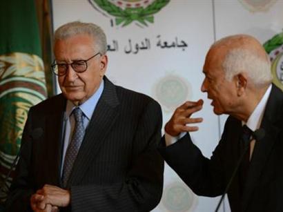 Brahimi, al-Arabi discuss Syria ahead of opposition talks